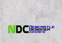 "Graphic Design Intrarea #121 pentru concursul ""Logo Design for Newcastle Designer Concrete"""