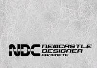 "Graphic Design Intrarea #82 pentru concursul ""Logo Design for Newcastle Designer Concrete"""