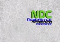"Graphic Design Intrarea #119 pentru concursul ""Logo Design for Newcastle Designer Concrete"""