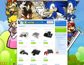 nº 22 pour Website Design for RetroGaming Shop on Magento par impact27