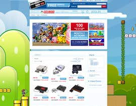 #10 untuk Website Design for RetroGaming Shop on Magento oleh impact27