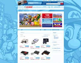 nº 7 pour Website Design for RetroGaming Shop on Magento par impact27