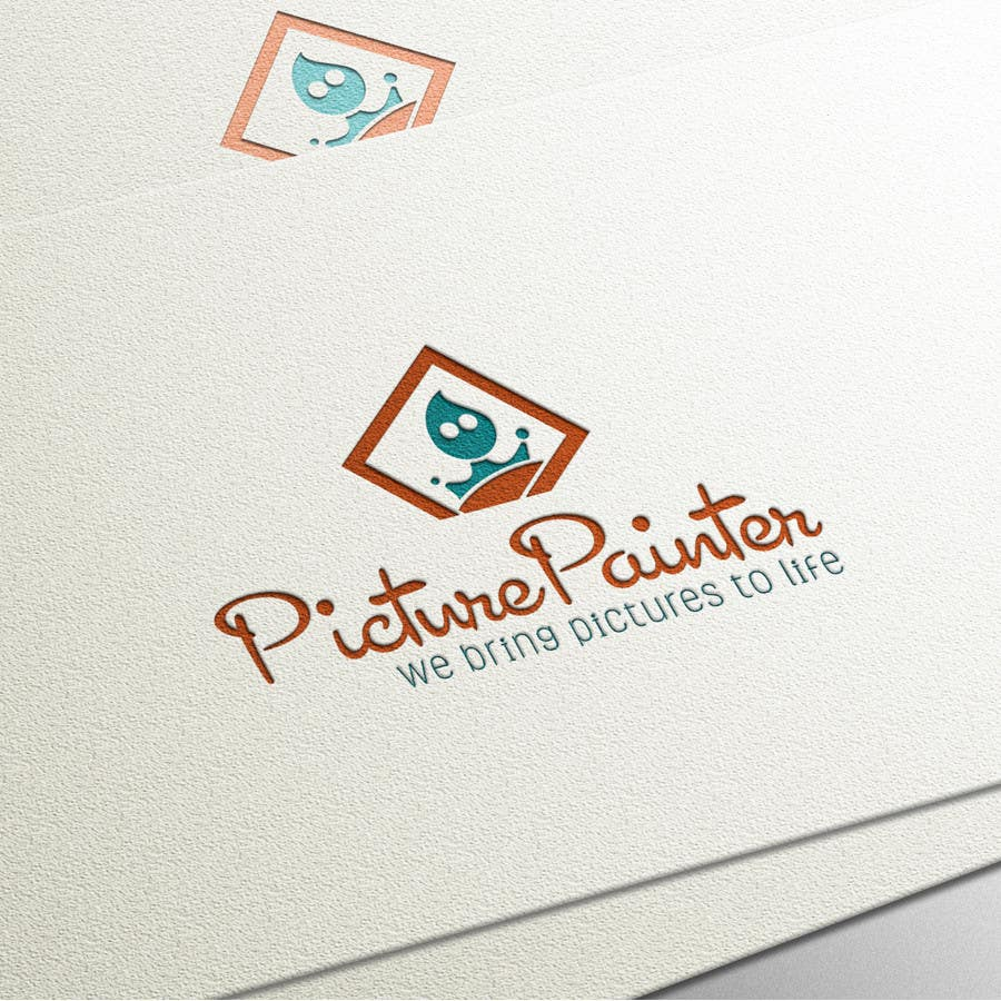 Proposition n°                                        89                                      du concours                                         Design a typographic style Logo for custom art company