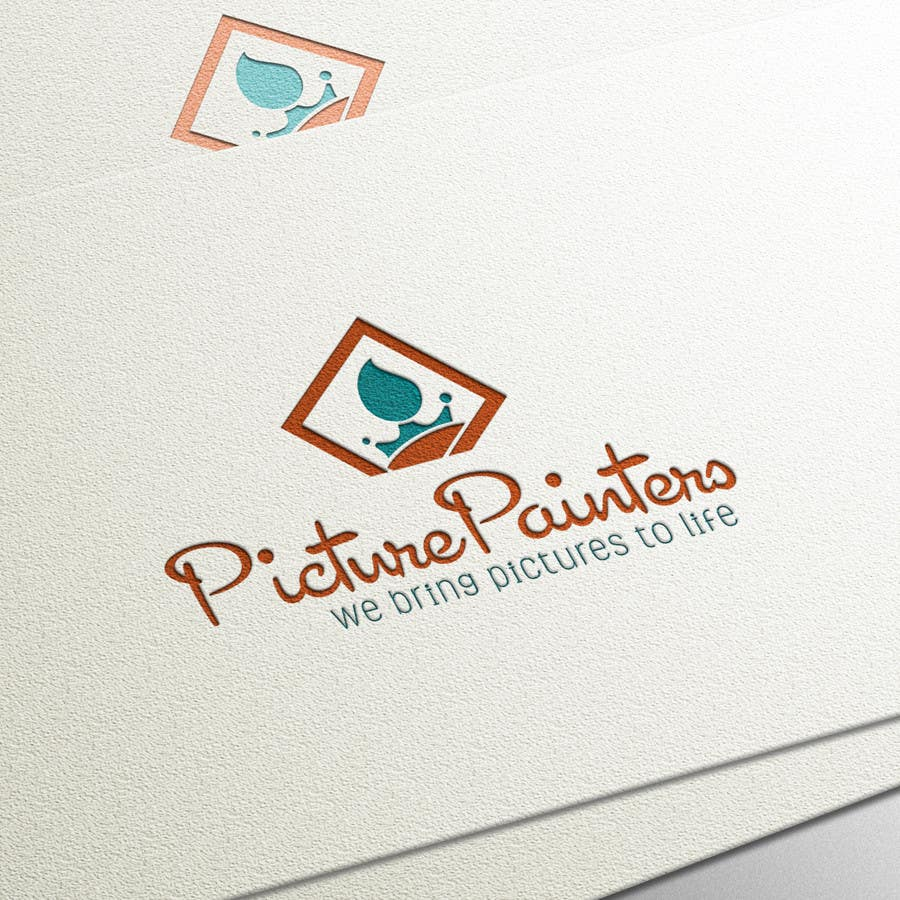Proposition n°                                        93                                      du concours                                         Design a typographic style Logo for custom art company