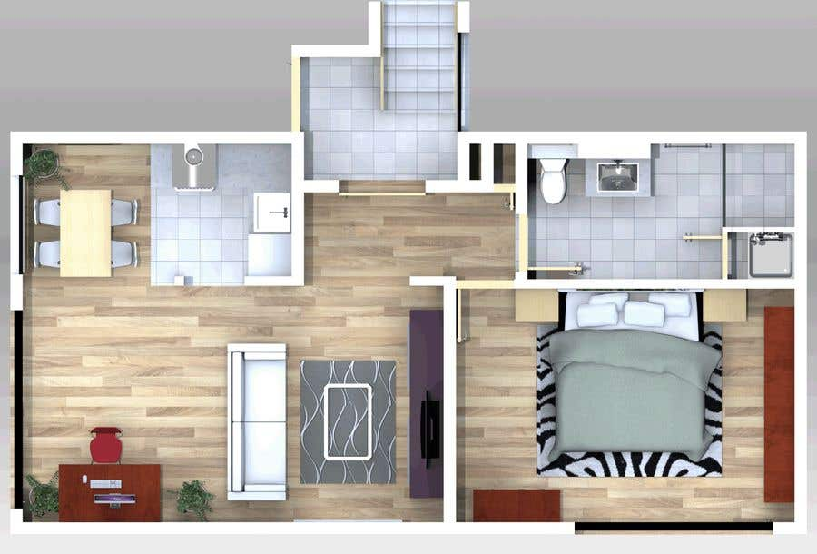 Contest Entry #30 For 2D / 3D Floorplan Creation