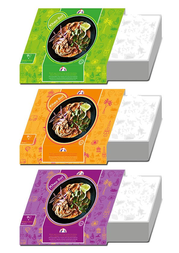 Entry 20 By Vmstigliano For Package Design For A Thai Ready To