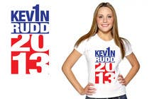 #117 for T-shirt Design for Help Former Australian Prime Minister Kevin Rudd design an election T-shirt! by jtmarechal