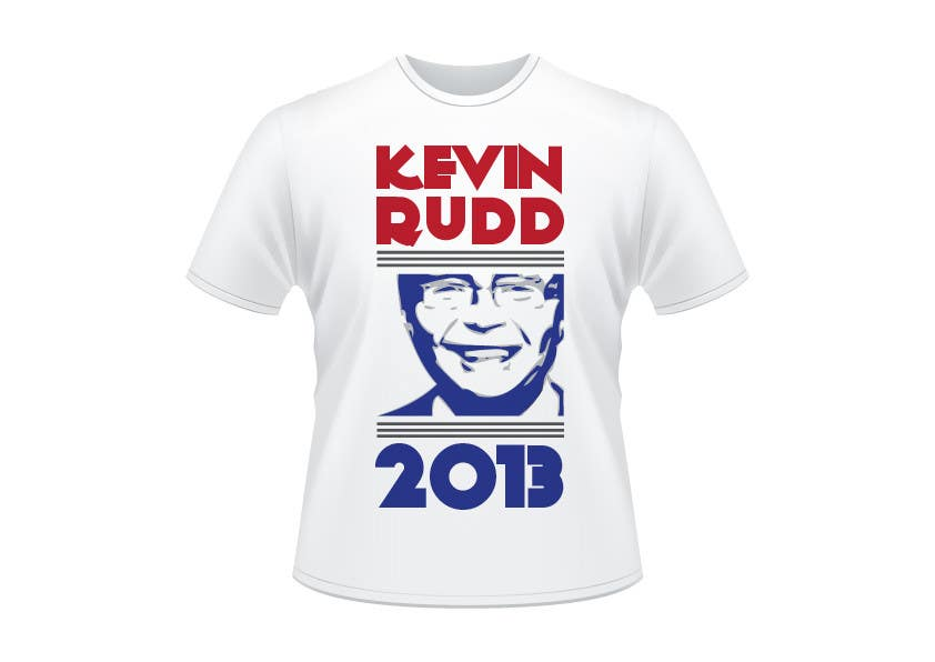 T shirt design for help former australian prime minister Design t shirt australia