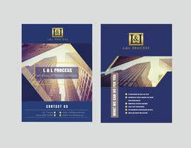 #105 for Flyer Design for legal services company - front and back A6 by tapos1993