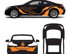 nº 22 pour Car Wrap Design for RISE Technology Solutions par MishAMan