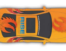 #28 untuk Car Wrap Design for RISE Technology Solutions oleh focused