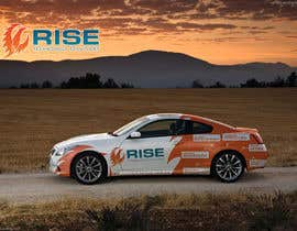nº 56 pour Car Wrap Design for RISE Technology Solutions par mfbdeip