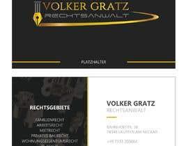 #13 cho logo, visitenkarte, briefbogen, flyer, screendesign für einen anwalt bởi tinyturtle