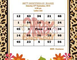 vishwasnln6 tarafından Design some Stationery for Bingo Birthhday Party için no 9