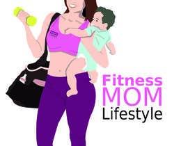 Nro 37 kilpailuun Design a Logo for Fitness Mom Lifestyle käyttäjältä noelcrm