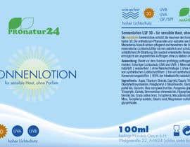 Nro 6 kilpailuun Erstellung bzw. Adaptierung 2x Etikett für Sonnencreme käyttäjältä ElenaMal