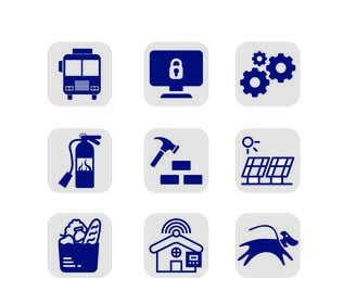 Image of                             Design some Icons set of 9 Butto...