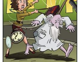pedroke tarafından Father Time Cartoon için no 11