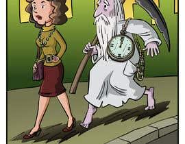 pedroke tarafından Father Time Cartoon için no 13