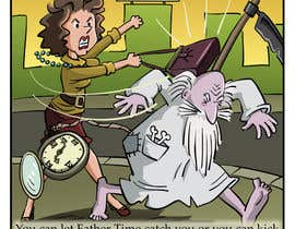 pedroke tarafından Father Time Cartoon için no 19