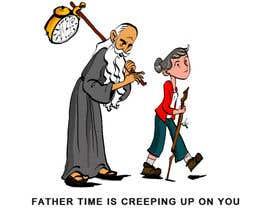 poontanam tarafından Father Time Cartoon için no 20