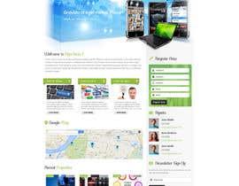 niladrilx tarafından rush 2 page Design for Website Mockup için no 7