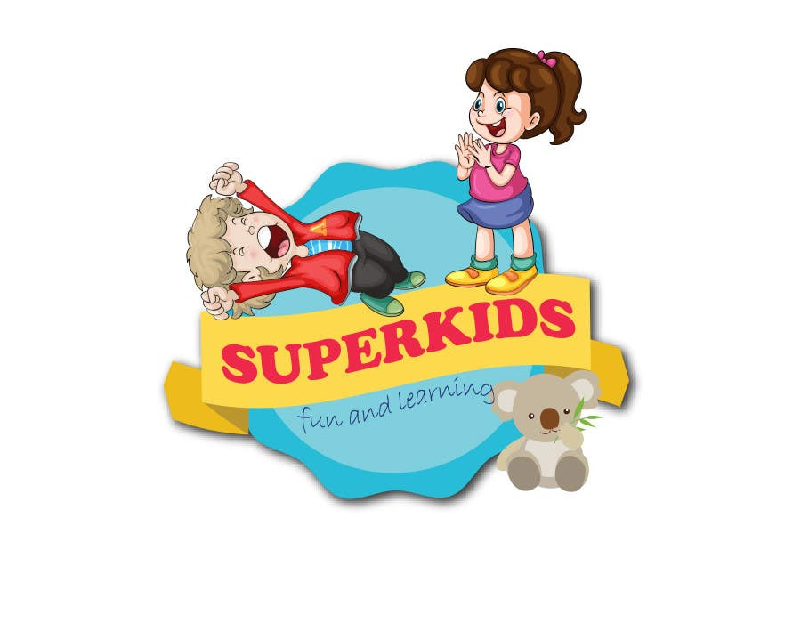 Entry #37 by eyefulsofttech for Design a Logo for SuperKids | Freelancer