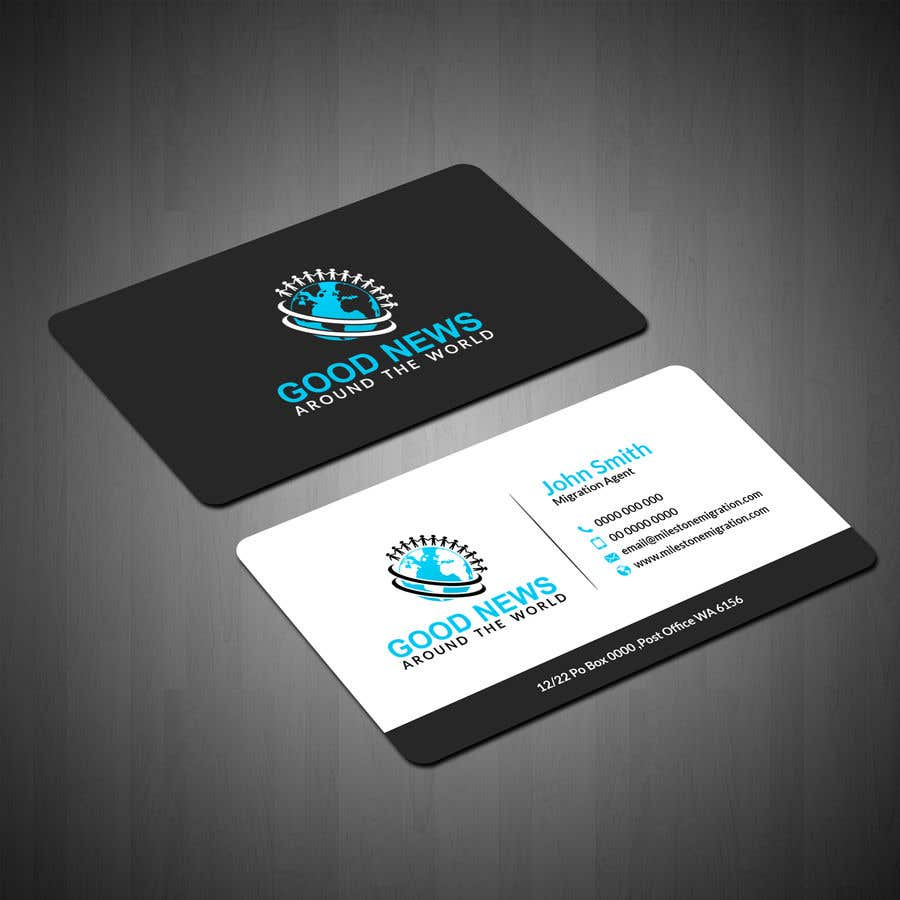 contest entry 52 for quick business card and logo design for non profit organization - Non Profit Business Cards