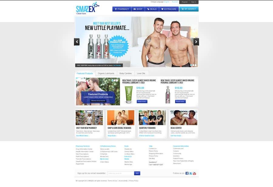 Proposition n°                                        31                                      du concours                                         Website Design for Smazex.com