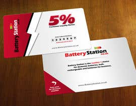 #53 pentru Business Card Design for Battery Station de către Zveki