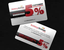 #49 for Business Card Design for Battery Station af csoxa
