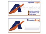 Graphic Design Konkurrenceindlæg #193 for Business Card Design for AttorneyBoost.com