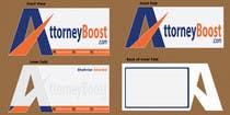 Graphic Design Konkurrenceindlæg #205 for Business Card Design for AttorneyBoost.com