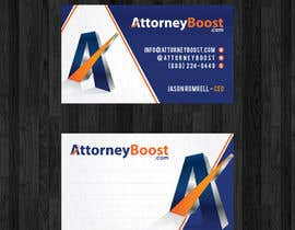 thanhsugar86 tarafından Business Card Design for AttorneyBoost.com için no 183