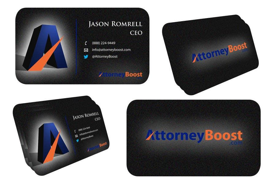 Konkurrenceindlæg #137 for Business Card Design for AttorneyBoost.com