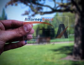 nº 247 pour Business Card Design for AttorneyBoost.com par zack966
