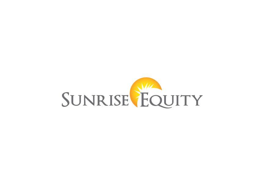 Penyertaan Peraduan #782 untuk Logo Design for Sunrise Equity