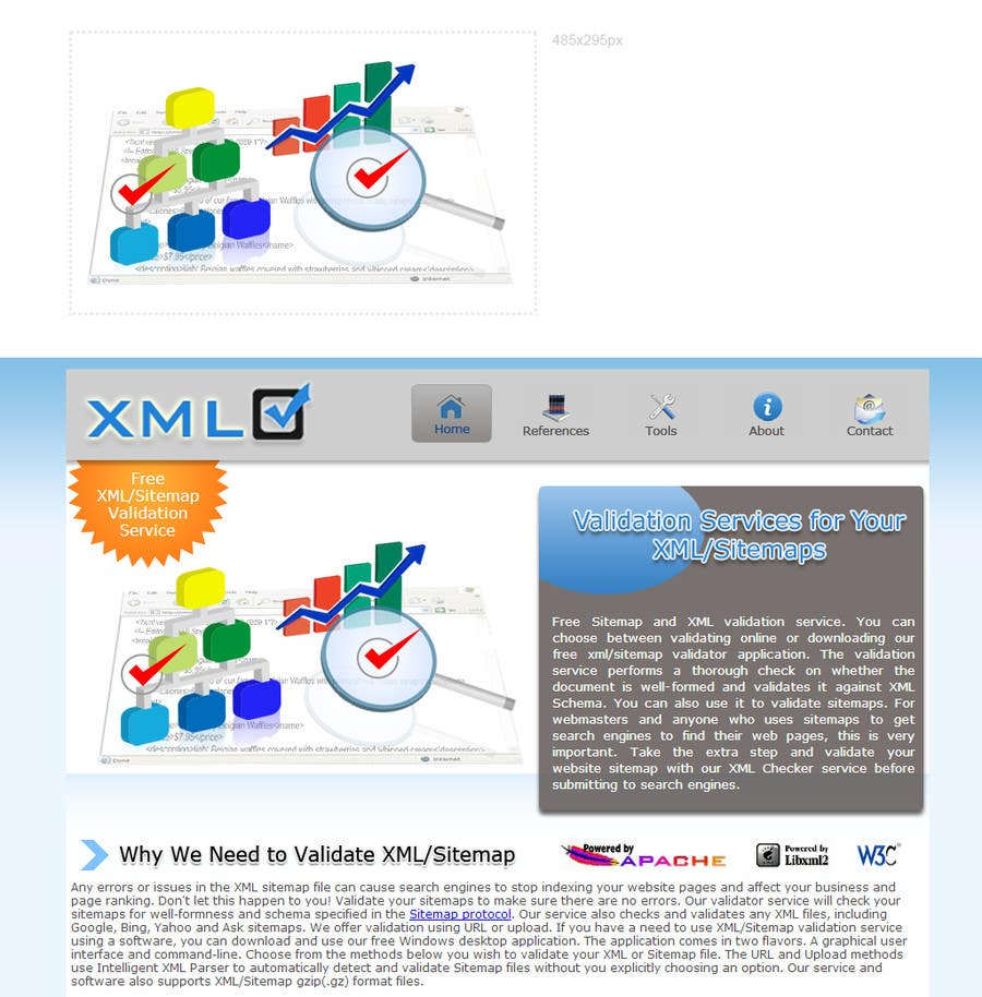 #3 for Graphic Design for http://www.xmlcheck.com by robertlopezjr