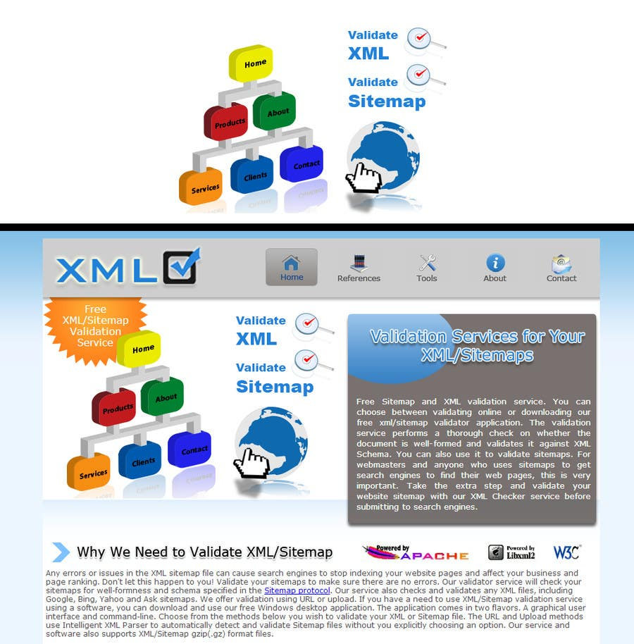 #12 for Graphic Design for http://www.xmlcheck.com by robertlopezjr