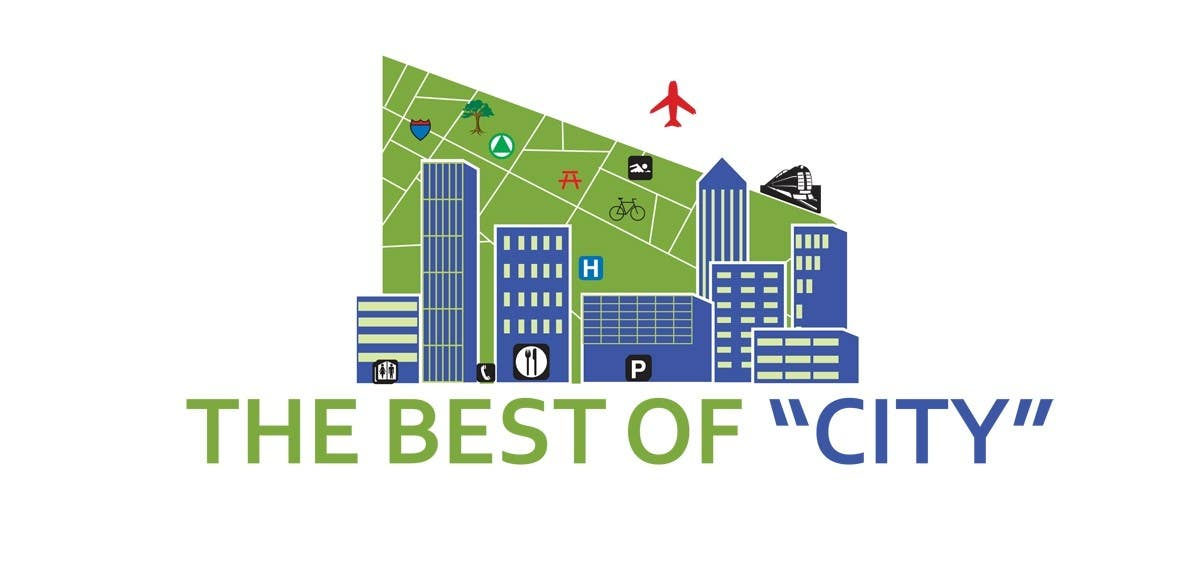 "Proposition n°                                        41                                      du concours                                         Logo Design for The Best of ""City"""