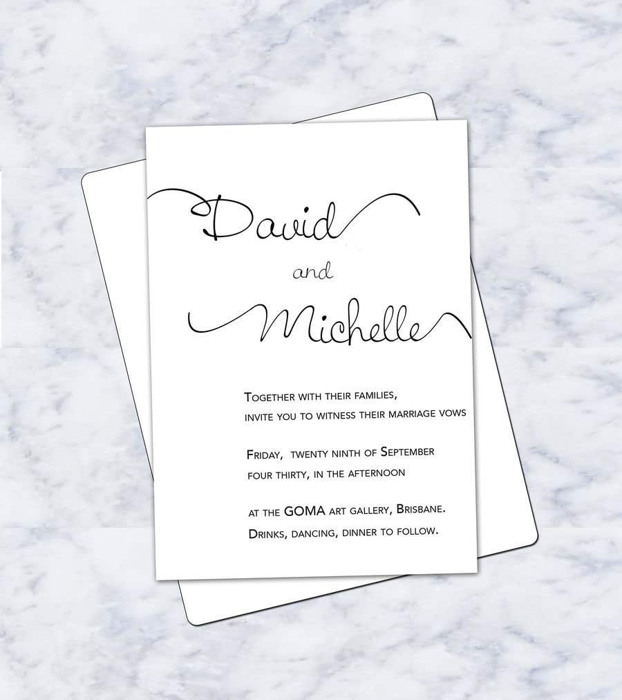 Entry #27 by sonalfriends86 for Wedding Invitations Design - A6 Size ...
