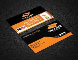 #7 para Boost Mobile Business Card por risfatullah