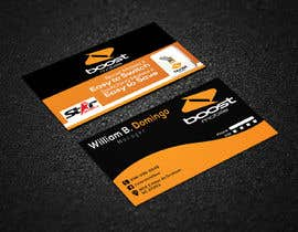 #21 para Boost Mobile Business Card por risfatullah