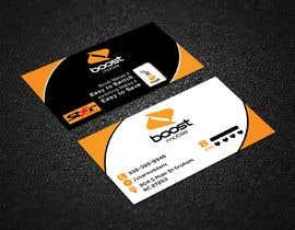 #27 para Boost Mobile Business Card por risfatullah