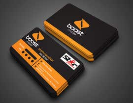 #25 para Boost Mobile Business Card por munnaaziz02