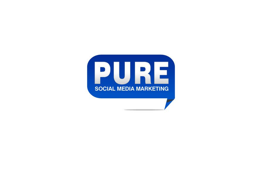 Bài tham dự cuộc thi #240 cho Logo Design for PURE Social Media Marketing