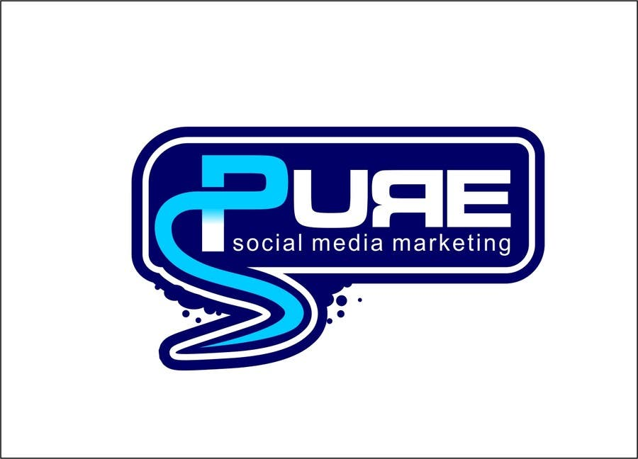 Конкурсная заявка №210 для Logo Design for PURE Social Media Marketing