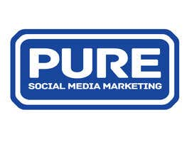 #217 para Logo Design for PURE Social Media Marketing por kxhead