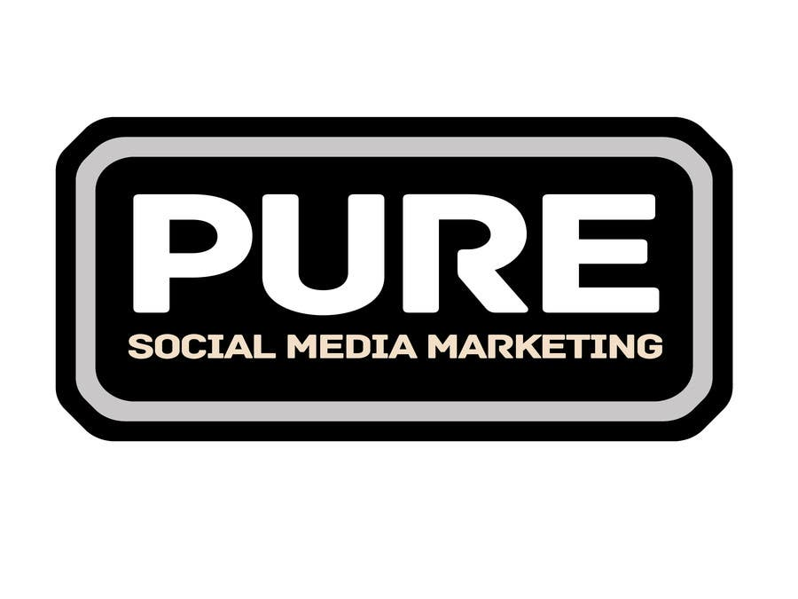 Конкурсная заявка №224 для Logo Design for PURE Social Media Marketing