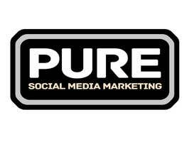 #224 para Logo Design for PURE Social Media Marketing por kxhead